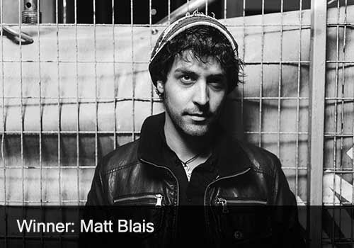 2018 Male Artist of the Year Winner - Matt Blais