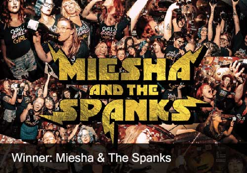 Rock Recording & Single of the Year Winner - Miesha & the Spanks