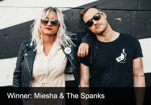 Female Artist Winner - Miesha & the Spanks
