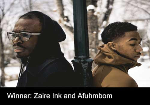 Contemporary Inspirational Recording Winner - Zaire Ink and Afuhmbom