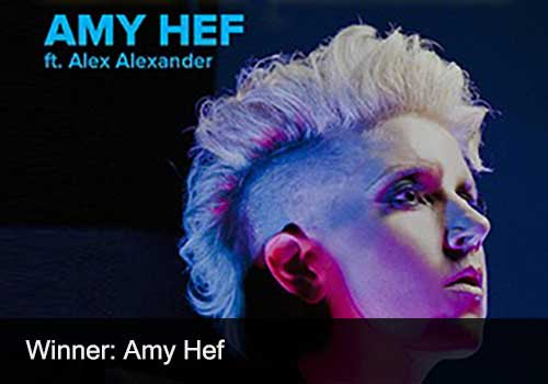 Pop Recording Winner - Amy Hef
