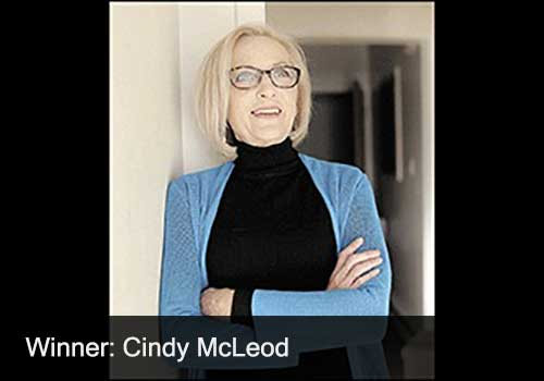 Industry Person Winner - Cindy McLeod