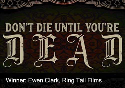 Music Video Winner - Ewen Clark, Ring Tail Films