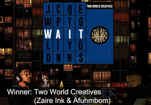 2020 Winner - Inspirational Recording of the Year - Two World Creatives - Zaire Ink & Afuhmbom