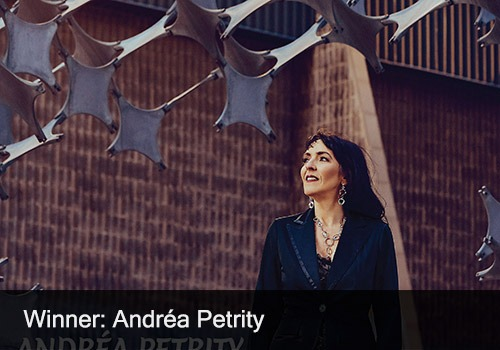 2020 Winner - Jazz Recording of the Year - Andrea Petrity