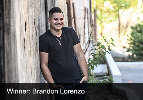 2020 Winner - People's Choice of the Year - Brandon Lorenzo