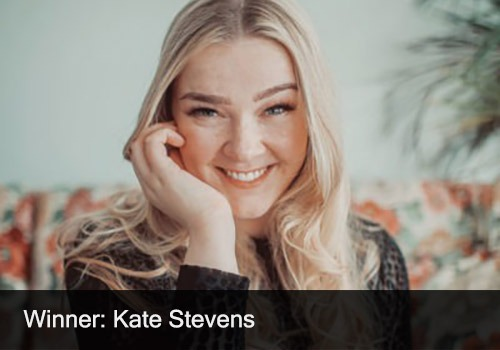 2020 Winner - Solo Artist of the Year - Kate Stevens