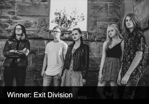 2021 Rock Recording Winner - Exit Division