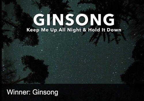2021 EDM Recording Winner - Ginsong