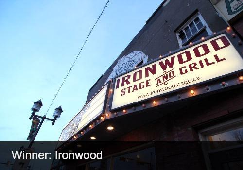 2021 Venue/Presenter Winner - Ironwood